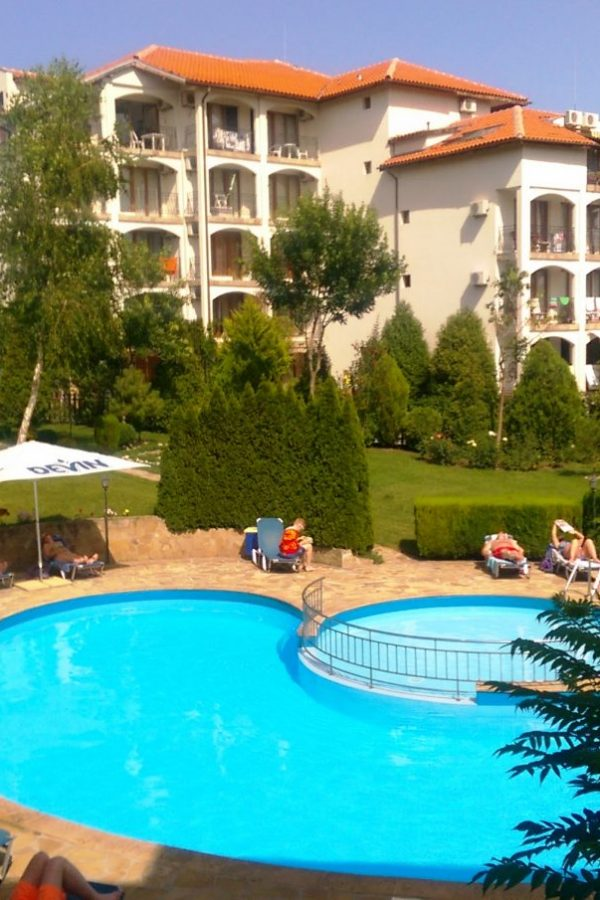 Typical apartment with 2 bedrooms and a living-room 6  ~85м² Sea view and garden view