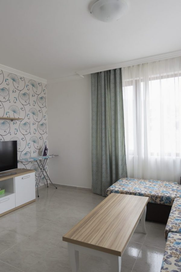 Typical apartment with 3 bedrooms and a living-room8  ~115м² Garden view