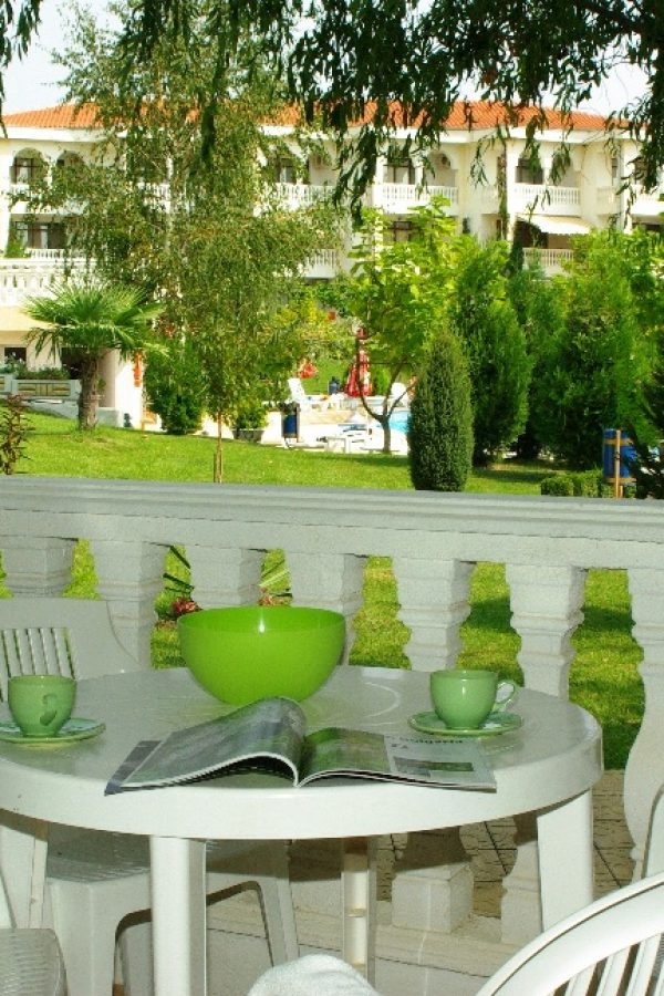 Typical apartment with 2 bedrooms and a living-room6  ~85м² Garden view