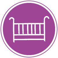 rent a baby cot in the apartment
