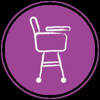 аренда детского стула для кормления