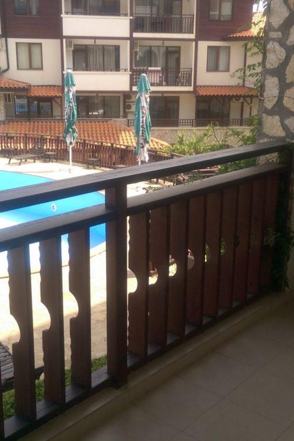 Примерен апартамент Парк10  ~50м² Гледка градина