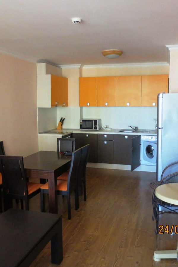 Typical apartment with 2 bedrooms and a living-room 6  ~85м² Sea view