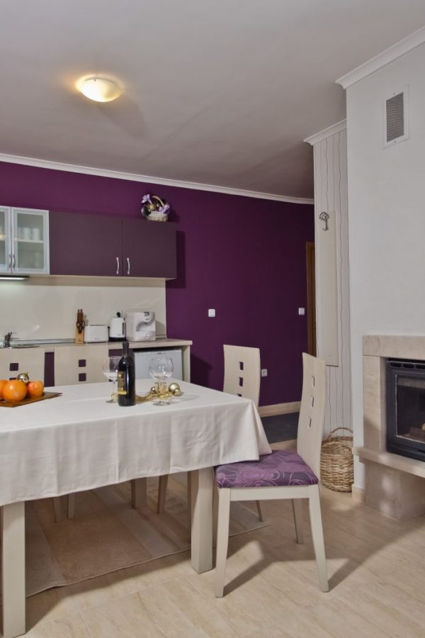 Примерен апартамент с 1 спалня и хол 4  ~50квм. Гледка комплекс или гледка планина