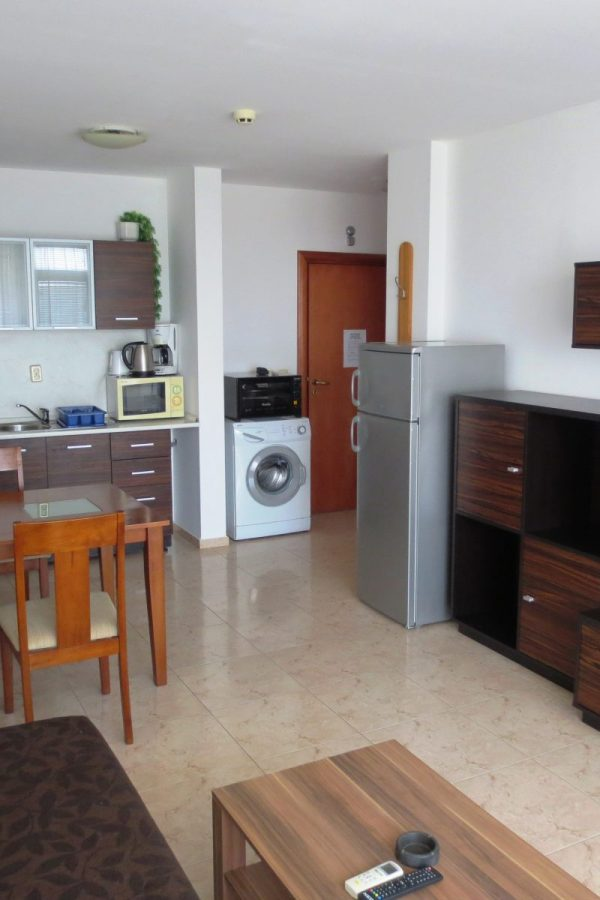Typical apartment with 1 bedroom and a living-room 4  ~50м² Garden view