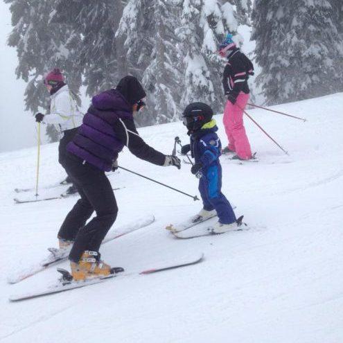 first ski2